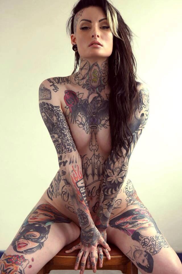 Nude Full Body Tattoos