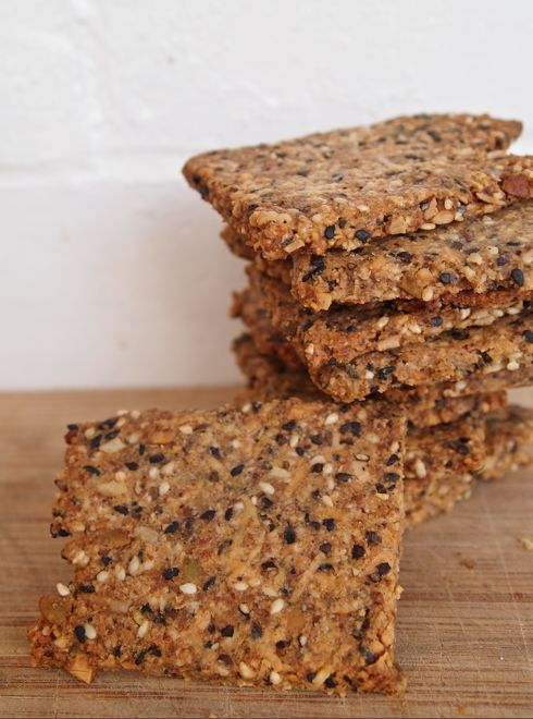 Multi grain crackers, gluten free and paleo!