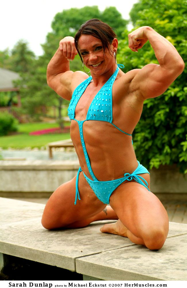 Seems very Female bodybuilder sarah dunlap nude