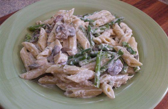 Creamy Asparagus-Chicken Bow-Ties | Recipe