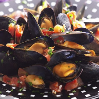 Mussels In Chorizo And Tomato Broth Recipes — Dishmaps