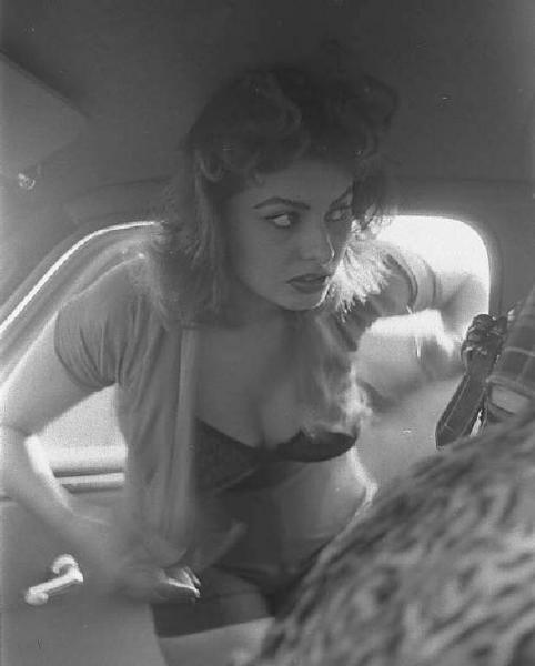 1955. Italy. Sophia Loren