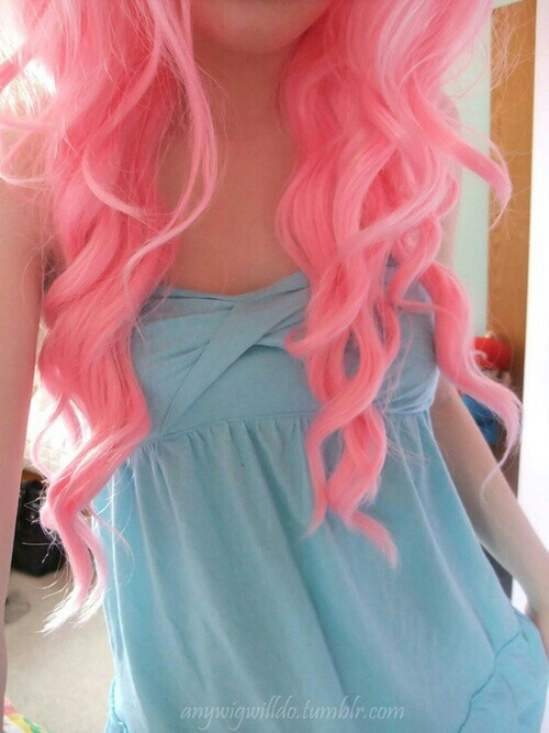 cotton candy pink hair pinky promise pinterest