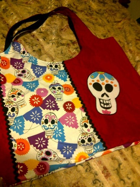 Day of the Dead tote!!