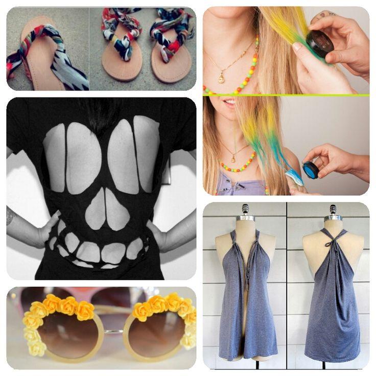 Diy Roundup 7 Fun Summer Diy Fashion Ideas