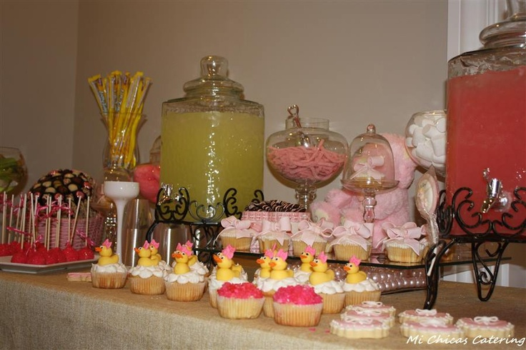 baby shower mi chicas catering pinterest