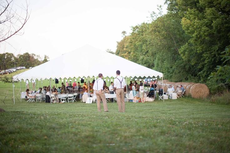 Tent Wedding In Backyard : backyard wedding