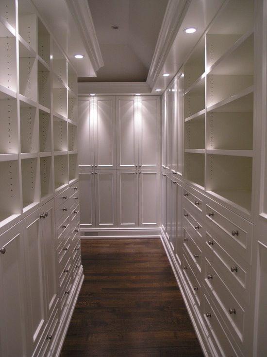 Walk In Closet With Lighting WIC Pinterest