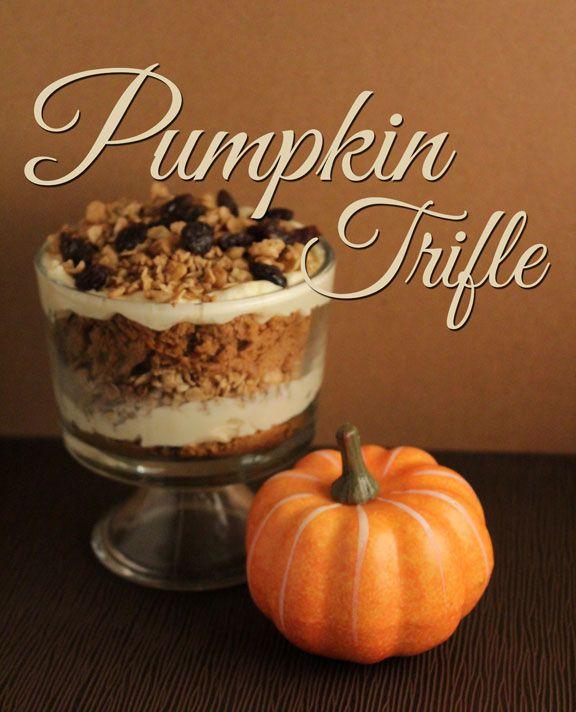 pumpkin trifle   Sugar Rush   Pinterest