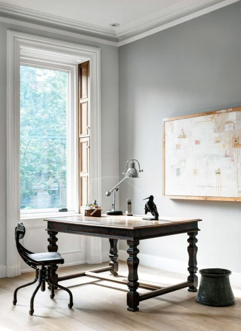 This Brownstone Is A Study In Neutrals #backtowork