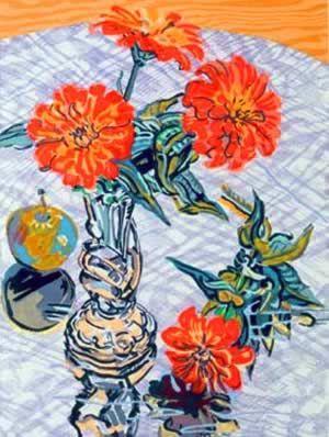 janet fish   Art...R C Moore Watercolors