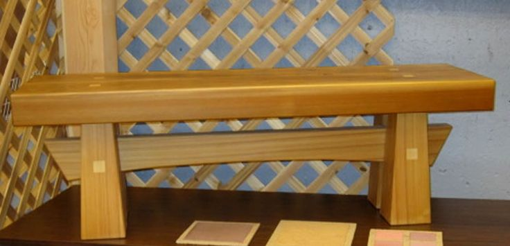 Japanese Bench Projects To Try Pinterest
