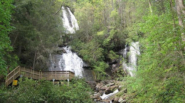 Anna Ruby Falls, Helen GA
