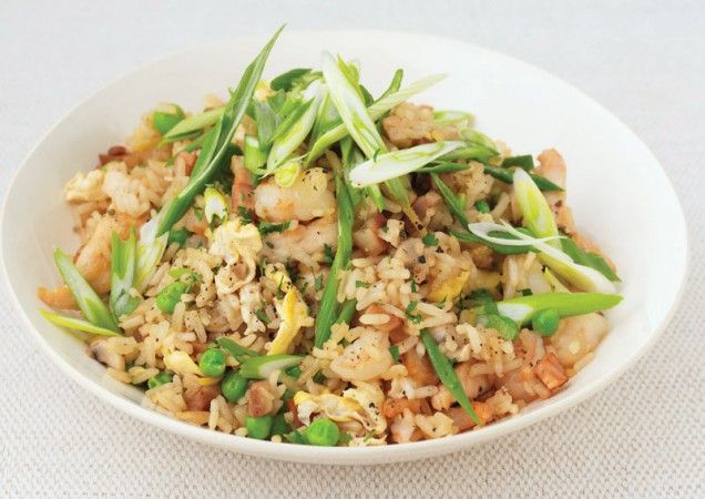 Special Fried Rice with Shrimp and Chicken | Recipe