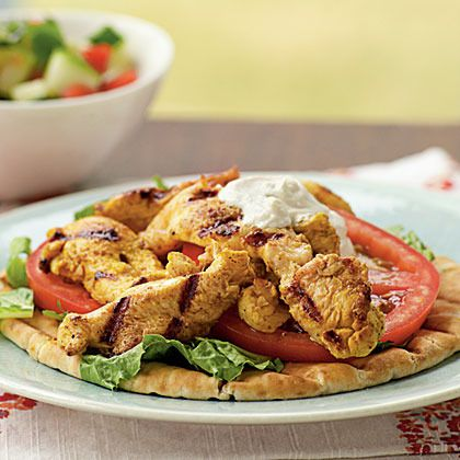 Chicken Shawarma by Cooking Light | Chicken Recipes | Pinterest