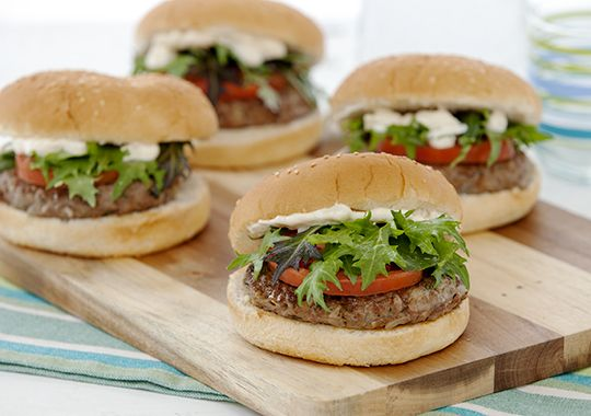 Moroccan Lamb Burgers | Recipe