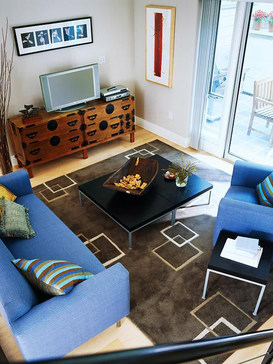 Furniture arrangement ideas and more for small living rooms for Furniture arrangement ideas for small living rooms