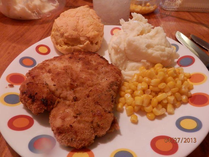 Oven Fried Pork Chops | Beef and Pork | Pinterest