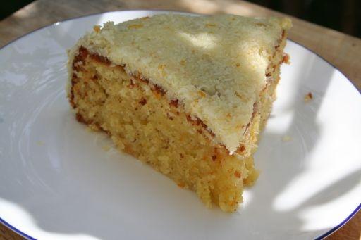 Orange-Coconut Cake | Cakes | Pinterest