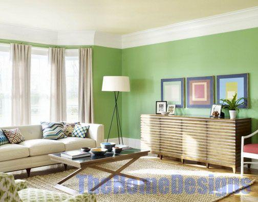 living room green paint ideas home designs pinterest