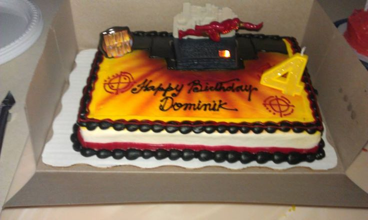 Iron Man Birthday Cakes At Walmart