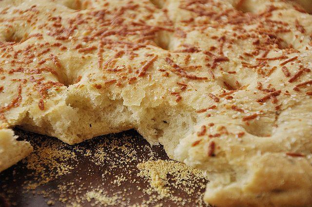 focaccia bread by yourhomebasedmom, via Flickr