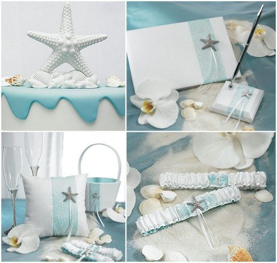 Starfish Wedding Accessories from HotRef.com