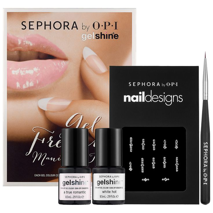 New at #Sephora: Sephora by OPI Gel French Manicure Kit #gelshine #