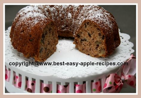 EASY Applesauce Cake...Yummy!!