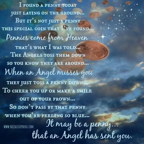 a penny from heaven essay There is an old wives' tale that when you find a penny it may be a penny from heaven but i believe that pennies from heaven if you enjoyed this essay.