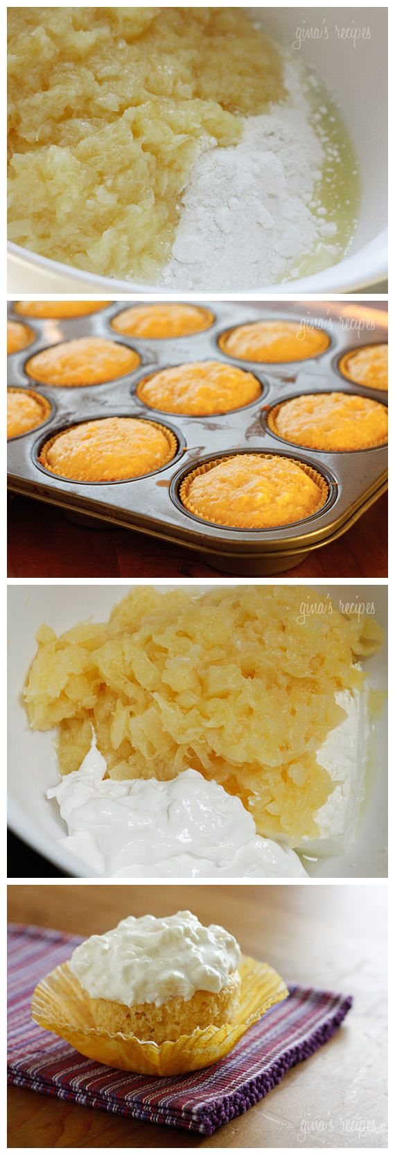 ... pineapple bliss cupcakes skinny points recipes pineapple bliss