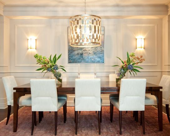 dining room chandeliers transitional