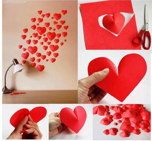 Как сделать из бумаги любовь