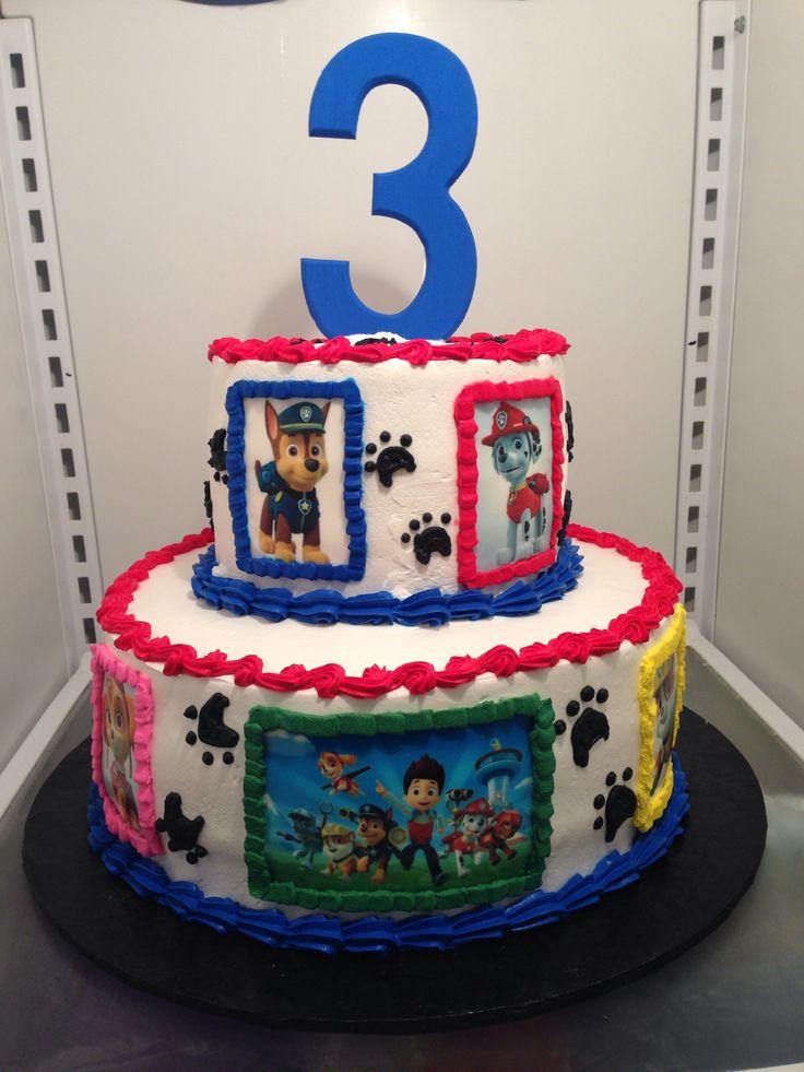 Images Of Paw Patrol Birthday Cake : Paw Patrol 1st Birthday Party Invitations Ideas