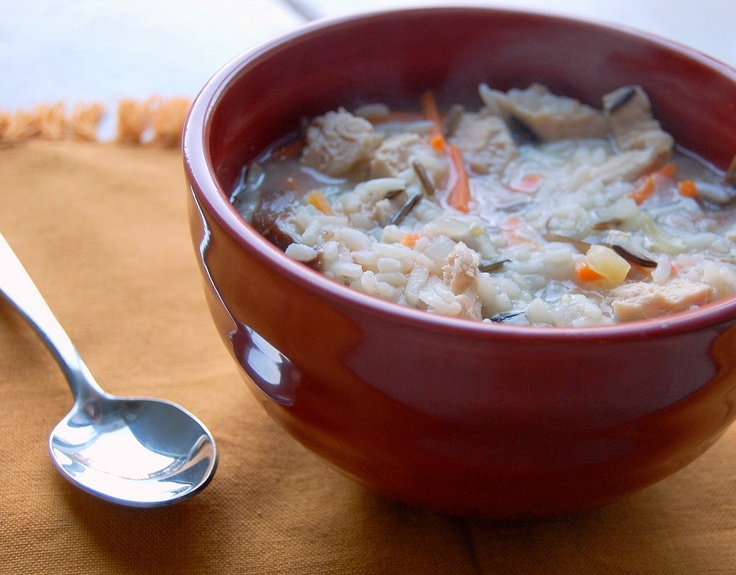 Chicken-Shiitake and Wild Rice Soup | Food - Soups - Stews... | Pinte ...