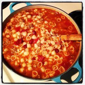 Pasta e fagioli | recipes | Pinterest