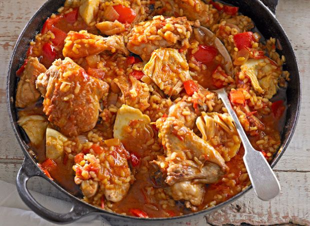 ... paella salmon paella bake zucchini summer paella chicken paella flickr