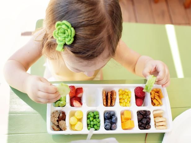 Cute little snack tray with ice cube tray