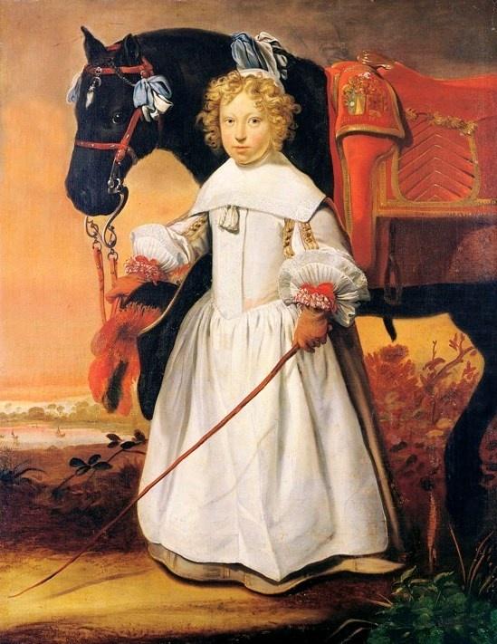 Nicolaas Wieringa, Portrait of Tjepcke van Aylva, 1657 - Leeuwarden, Fries Museum