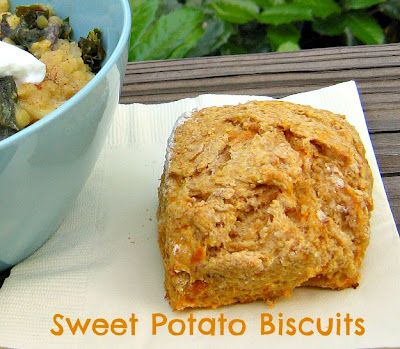Meet Me in the Kitchen: Elmo's Sweet Potato Biscuits