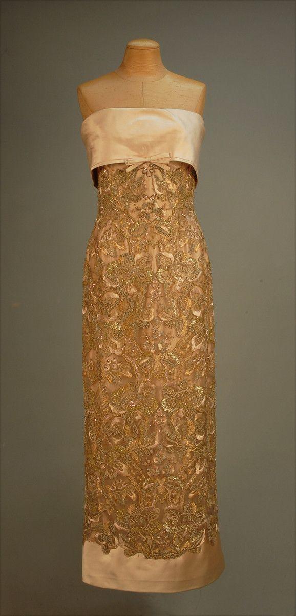 1950s Balmain Evening Gown