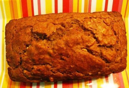 Low Fat, Low Sugar, Super Moist Whole Wheat Banana Nut Bread | Fat ...