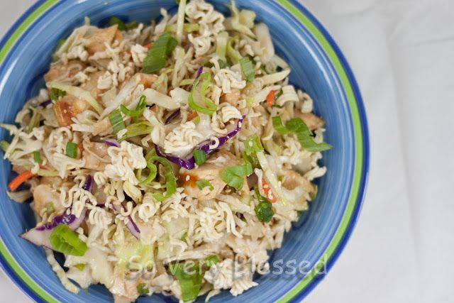 Chinese Chicken Salad Recipe : | Lunches | Pinterest
