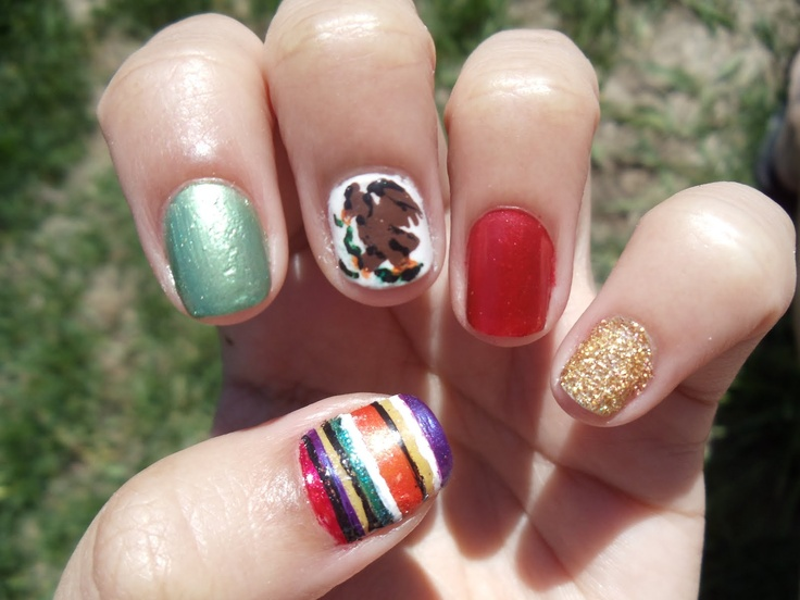nail art designs for memorial day