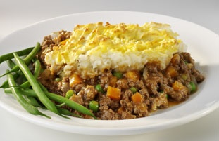 shepherds pie. never tried it, but looks good.