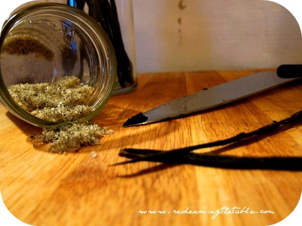 vanilla salt | Redeeming the Table.My Recipes | Pinterest