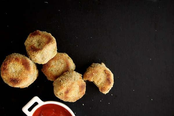 Broccoli & Potato Nuggets #Nuggets #Broccoli #Food http://www ...