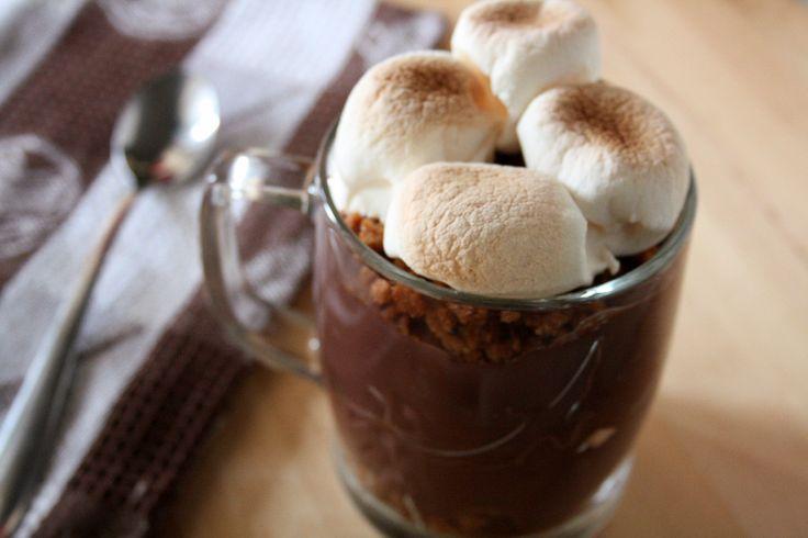 mores pudding | S'mores desserts!! | Pinterest