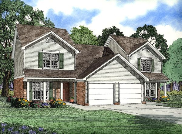 3 bedrooms upstairs and garage duplex plans pinterest for Garage with upstairs