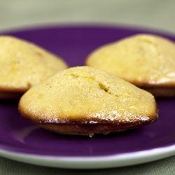 Lavender-Glazed Lemon-Thyme Madeleines   Food + Drinks + Recipes   Pi ...
